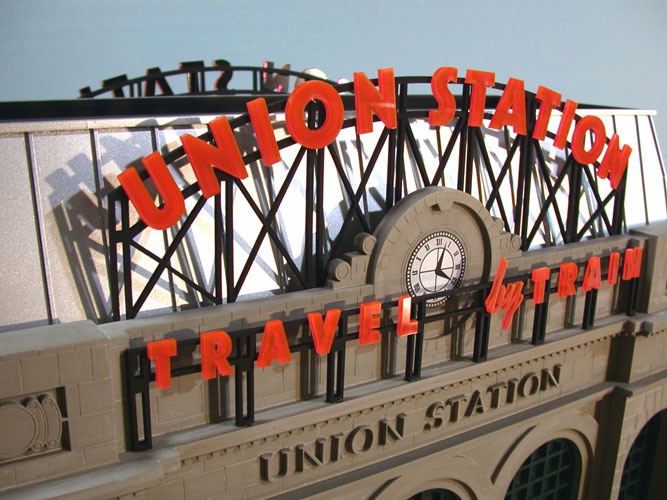 Union Station Denver – Courtesy of Custom Model Railroads