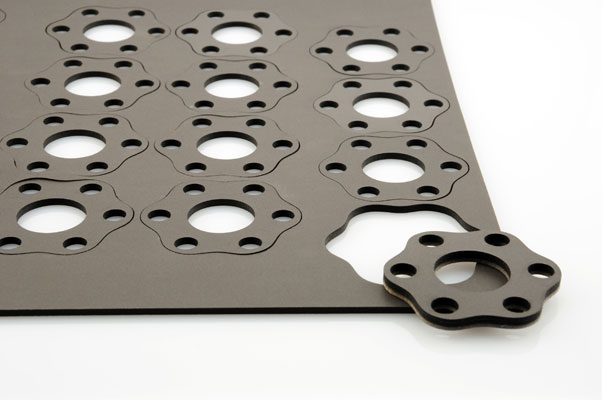 Laser cut Neoprene gaskets