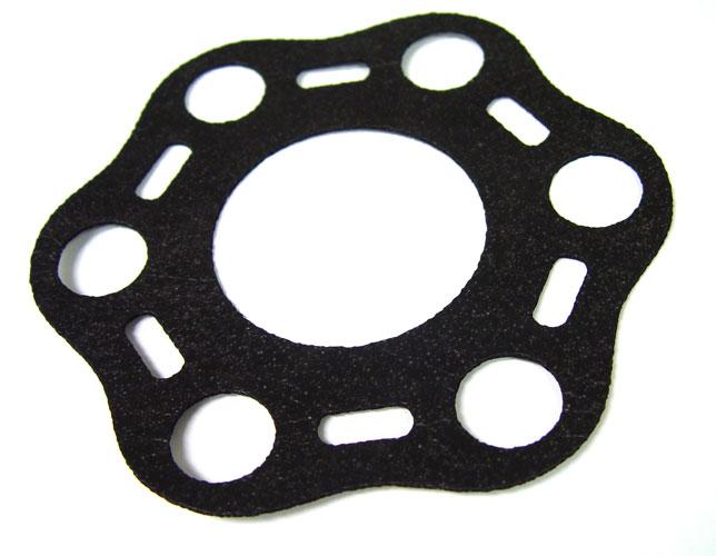 Laser cut rubber gasket