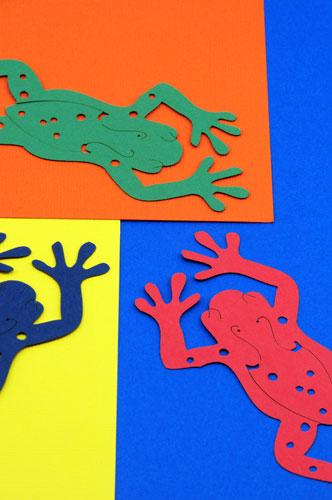Laser cut paper art stencil